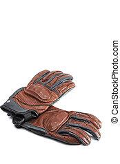 clothing.set, rękawiczki, ochronny, motorcycling, ...