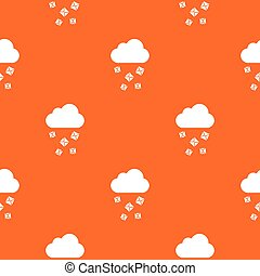 Cloud and hail pattern seamless