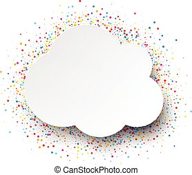 Cloud background.