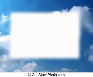 Cloud Border - Cloud Formation Border - Get creative & use ...