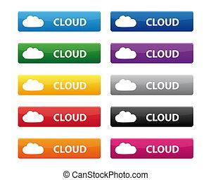 Cloud buttons
