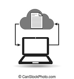 cloud computer connected document