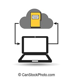 cloud computer connected files