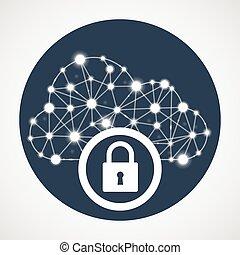 Cloud computing access - internet