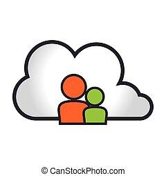 cloud computing and data social media
