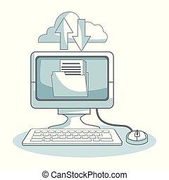 Cloud computing computer