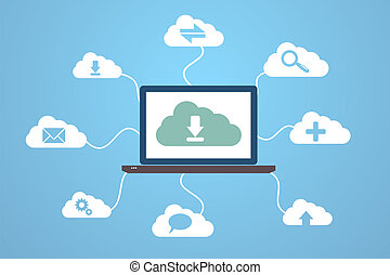 computing - Cloud computing concept design