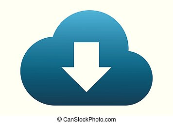 cloud computing data download logo