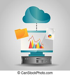 cloud computing data folder file transfer info