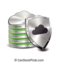 cloud computing database and shield