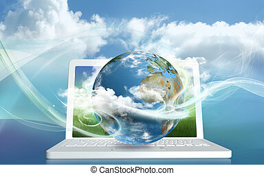 Cloud Computing Energy - Cloud Computing from a Laptop into...