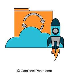 cloud computing file data rocket
