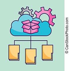 cloud computing folder file information storage work technology
