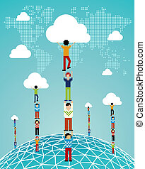 Cloud computing global success - Global expansion of cloud...