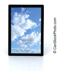 cloud computing on tablet pc