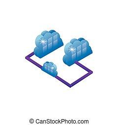 cloud computing server network