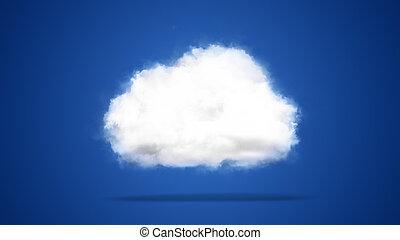 Cloud computing / techology concept - Cloud computing /...