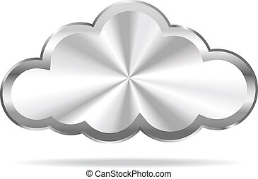 Cloud Computing - Virtual Cloud Icon