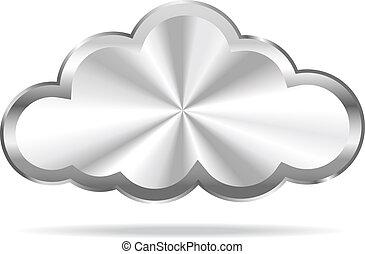 Cloud Computing - Virtual Cloud Icon