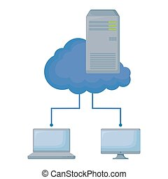 cloud computing with computers