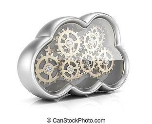Cloud computing with gears