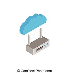 cloud computing with router wifi
