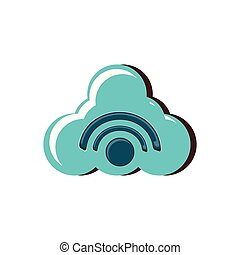 cloud computing with signal wifi