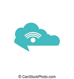 cloud computing with wifi signal