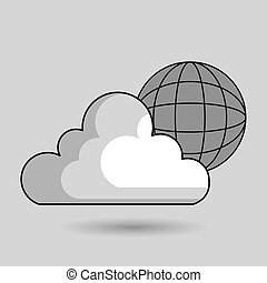 cloud data base center
