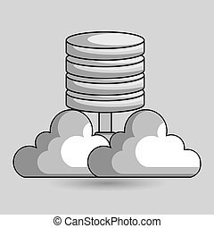 cloud data base center