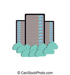 cloud data center server storage technology