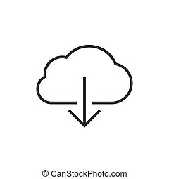 Cloud data download