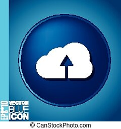 cloud download. icon download files