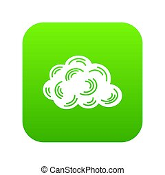 Cloud icon green