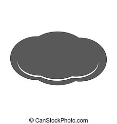 Cloud icon  simple
