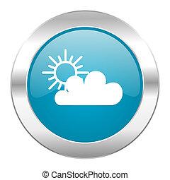 cloud internet blue icon