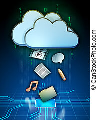 Cloud media
