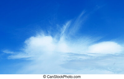 Cloud natural background