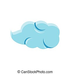 cloud natural isolated icon