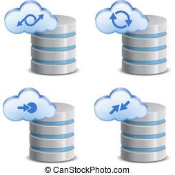 On-line backup service - Cloud network backup. On-line...