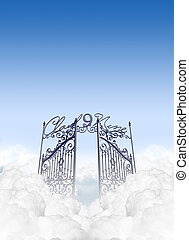 Cloud Nine - A depiction of the entrance to cloud nine in...