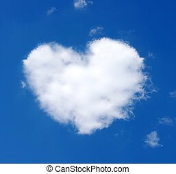 cloud of heart