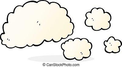 Cloud Of Smoke Cartoon Element
