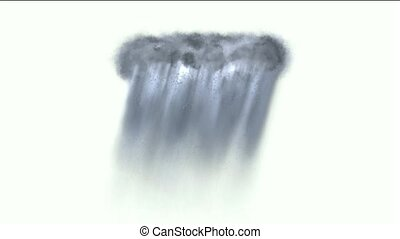 cloud & rainstorm.