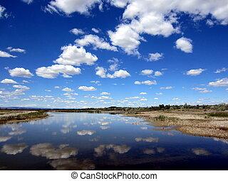 Cloud Reflections in Eastern Washington