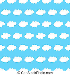 Cloud seamless background