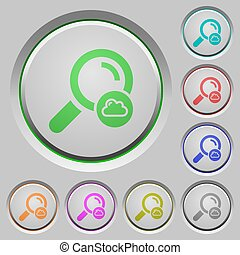 Cloud search push buttons