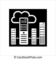 Cloud Server Icon