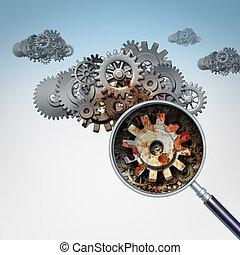 Cloud Services Problem - Cloud services problem as a group...