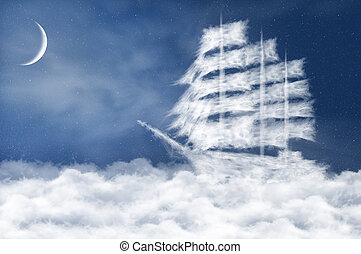 Cloud ship